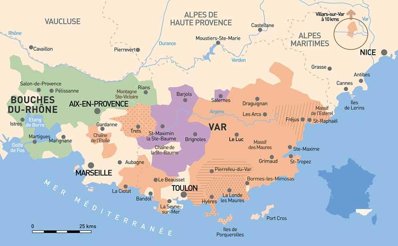 Vini di provenza francia - Salon de provence departement ...